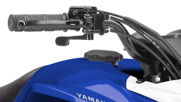 yamaha steering kids quad