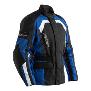RST Alpha IV CE Mens Textile Jacket Blue