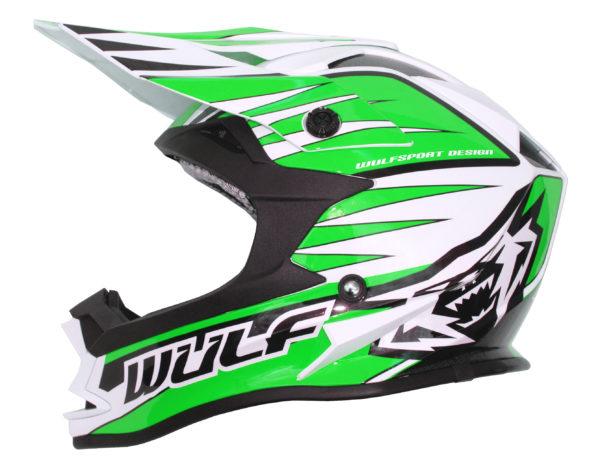 Wulfsport Cub Advance Helmet - Green