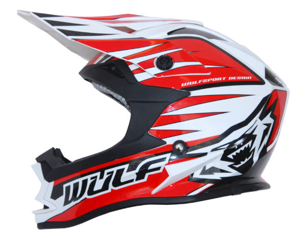 Wulfsport Cub Advance Helmet - Red