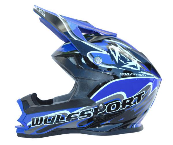 Wulfsport Cub K2 Helmet - Blue