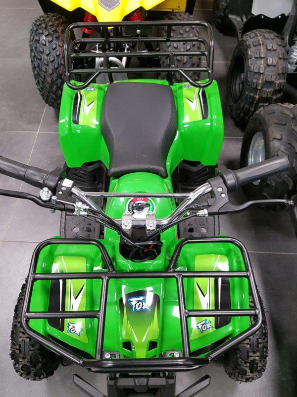 Fox Fourtrax 36V 800W Electric Big Wheel – Green