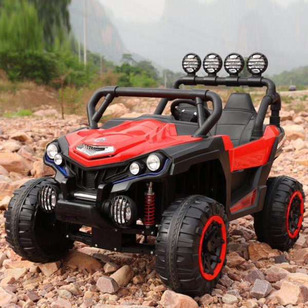 Kids Ride-On Off Road Jeep Red