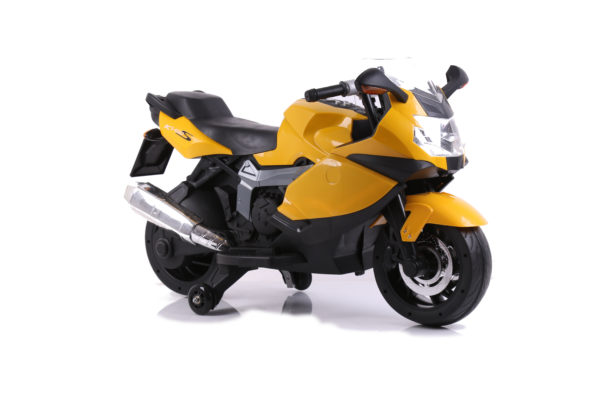 Kids Ride-On Replica BMW K1300s Motorbike Yellow
