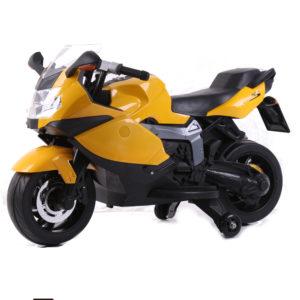 Kids Ride-On Replica BMW K1300s Motorbike Yellow