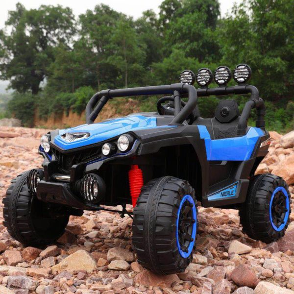 Kids Ride-On Off Road Jeep Blue