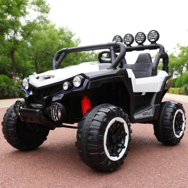 Kids Ride-On Off Road Jeep White