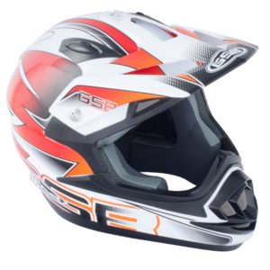 GSB MX HELMET XP-14B GRAPHIC ORANGE
