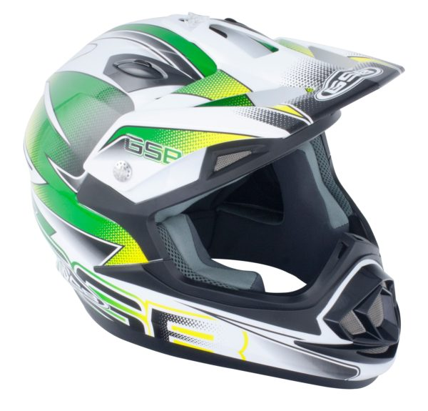 GSB MX HELMET XP-14B GRAPHIC GREEN