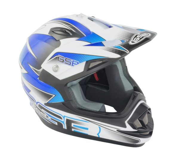 GSB MX HELMET XP-14B GRAPHIC BLUE