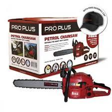 Proplus 16″ Petrol Chainsaw 45cc – Garden Chainsaw