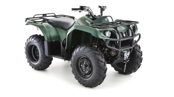 Donegal Quads Yamaha Grizzly 350 4WD Green