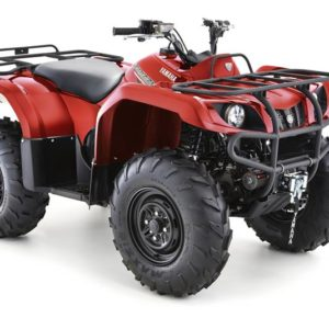 Donegal Quads Yamaha Grizzly 350 4WD Red 1