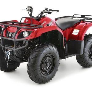 Donegal Quads Yamaha Grizzly 350 4WD Red 2