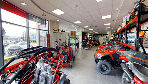 Motoworld showroom Letterkenny