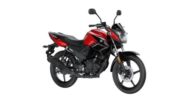 YAMAHA YS125 Power Red Motorbike
