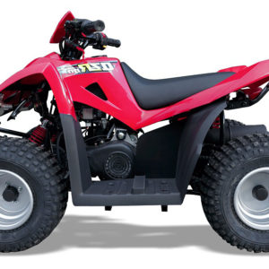 QZR-80-RED KIDS QUAD BIKE