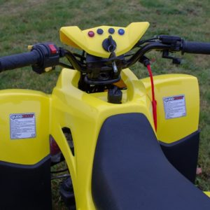 Quadzilla QZR 80 - Yellow kids quad