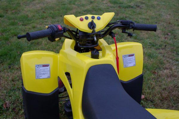 Quadzilla QZR 80 - Yellow kids quad