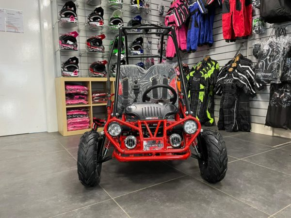 front of xrx-r buggy