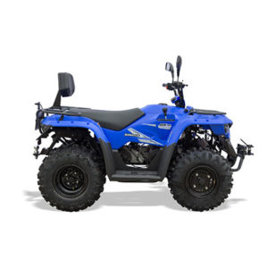 qz150 road legal quad