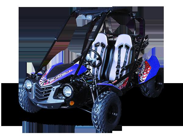 Trailblazer Buggy 150 blue