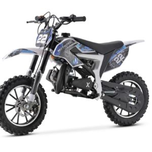 mini dirtbike 711 blue