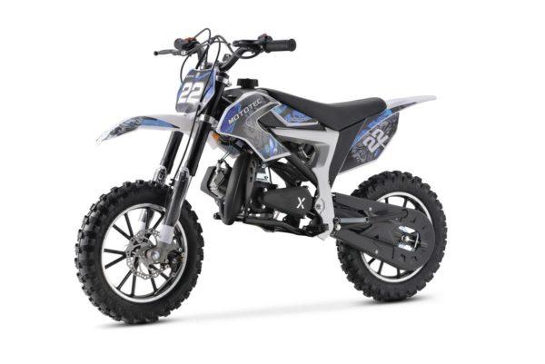 mini dirtbike 711 blue