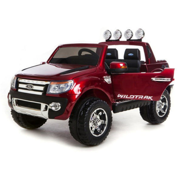 kids ford ranger ride-on in red