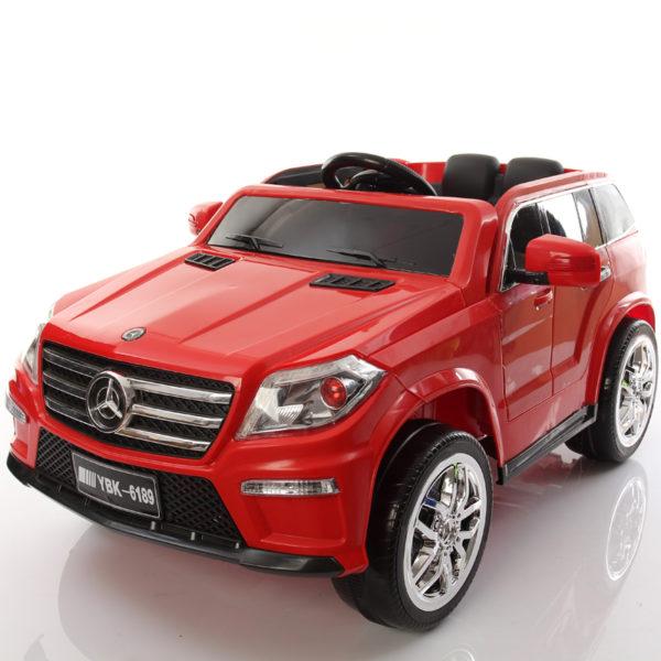 mercedes gls 12v ride on red