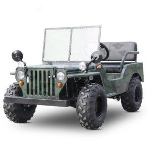 Mini Army Jeep 125cc