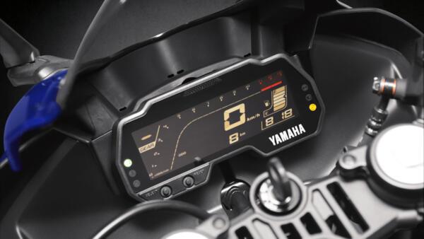 Dash 2021 Yamaha YZF R125