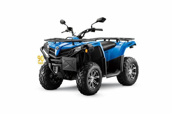CForce 450 EPS T3 Blue Angle