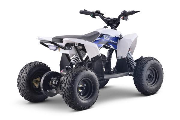Fox 4T 1000w Electric Blue Kids Quad