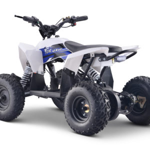 side Fox 4T 1000w Electric Blue Kids Quad