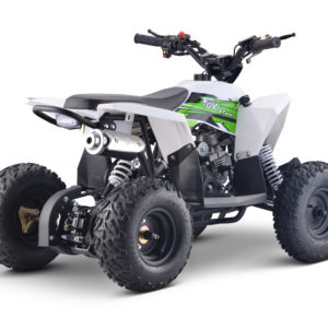 Fox 4T 50cc Kids Quad - Green/White