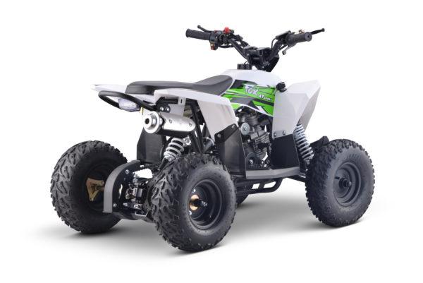 Fox 4T 50cc Kids Quad - Green/White