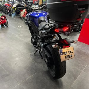 Yamaha Tracer MT motorbike