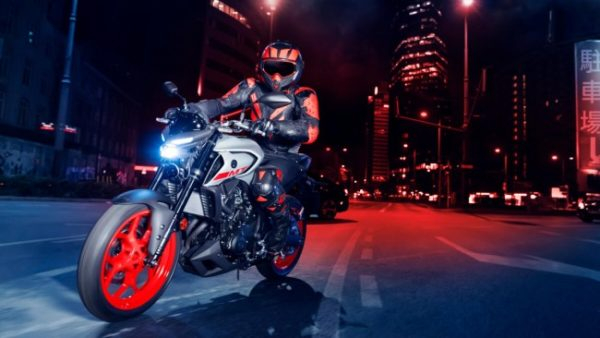 Yamaha MT-03 Night Rider