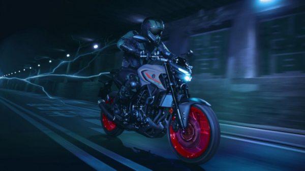 Yamaha MT-03 Rider