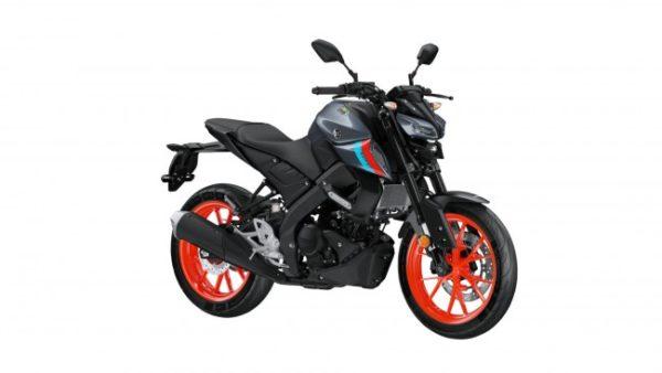 Yamaha MT 125 Orange Wheel