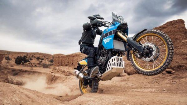 Yamaha Tenere 700 Rally action