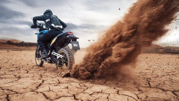 Yamaha Tenere 700 Rally dirt ride