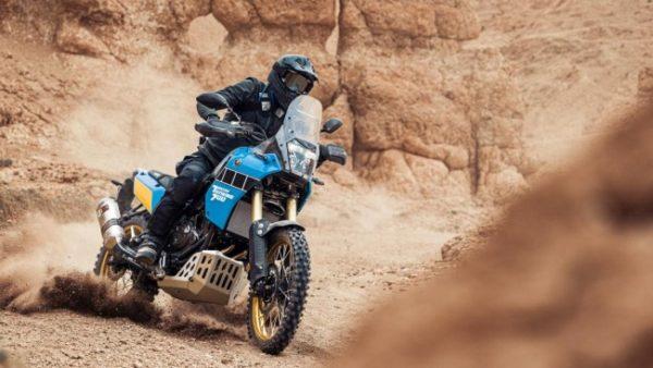Yamaha Tenere 700 Rally in the dirt