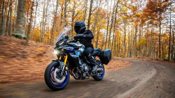 Yamaha Tracer 900 GT Motorbike