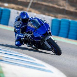 Yamaha YZF-R1 On The Track