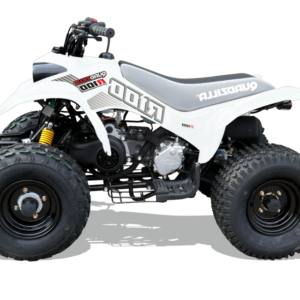 r 100 kids quad in white