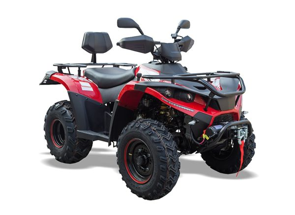 QZ300 EFi- 4X4 ROAD LEGAL QUAD