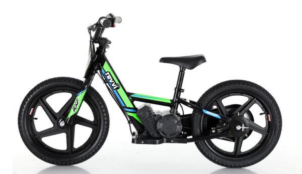balance bike in green 16