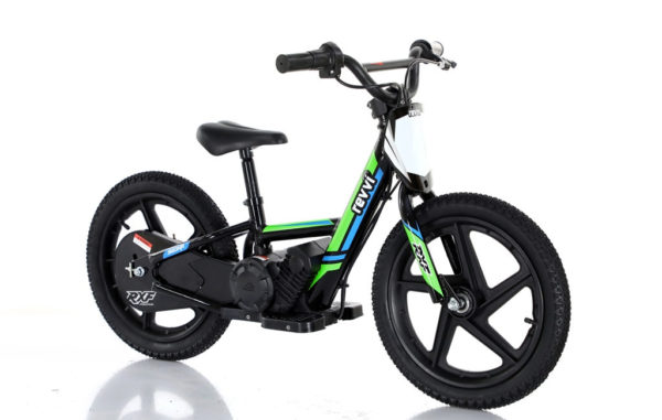 revvi 16 balance bike for kids green